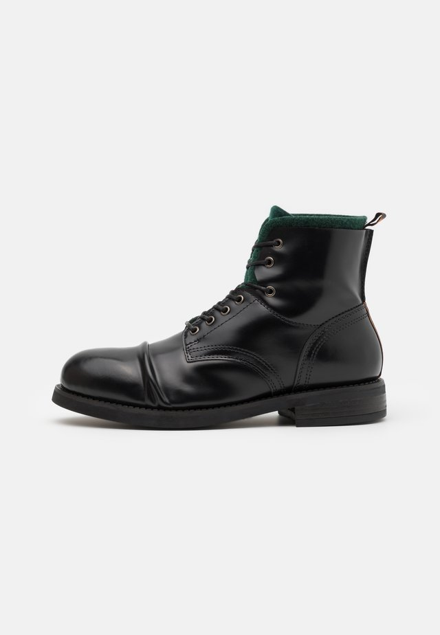 COLTAN - Lace-up ankle boots - black