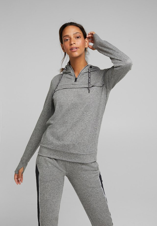 Sweat à capuche - medium grey