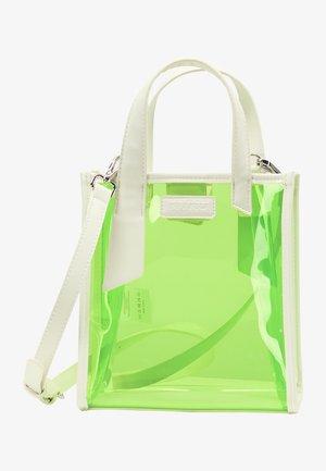 Handbag - neon grün