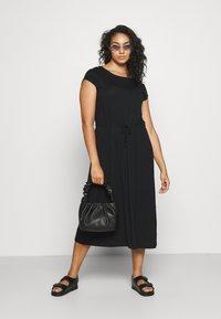 Anna Field Curvy - Day dress - black - 1
