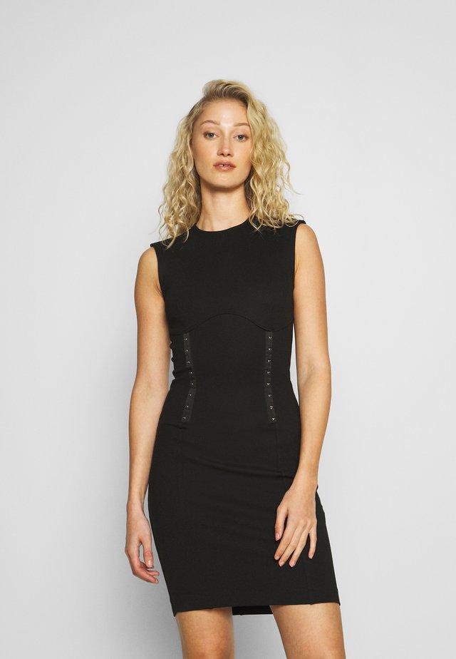 YSABEL DRESS - Jersey dress - jet black