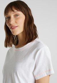 edc by Esprit - T-shirt basic - white - 5