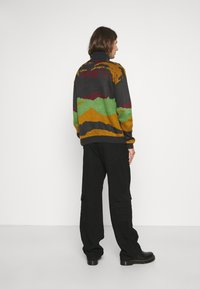 Another Influence - ROLL NECK SCENIC JUMPER - Trui - charcoal - 2