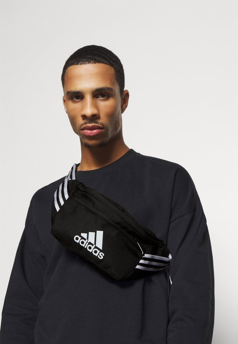 adidas Performance - LOGO TRAINING SPORTS WAISTBAG UNISEX - Ledvinka - black