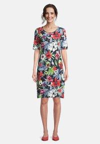 Betty Barclay - Jersey dress - dark blue/red - 0
