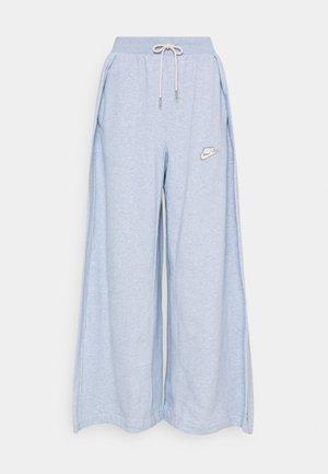 PANT EARTH - Pantalones deportivos - armory blue/heather/white