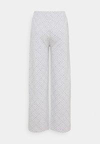 GANT - ICON PANT - Bukse - light grey melange - 1