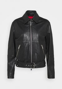 WEEKEND MaxMara - AXE - Leather jacket - schwarz - 0