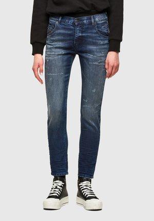 KRAILEY  - Slim fit jeans - dark blue