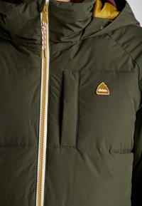 Burton - KEELAN  - Snowboardová bunda - olive - 8
