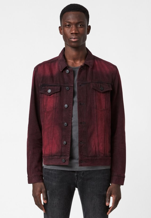 Denim jacket - red