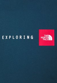The North Face - NEVER STOP EXPLORING TEE - Print T-shirt - monterey blue - 5