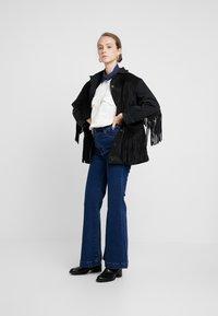 Levi's® Made & Crafted - LMC THE RANCH HANDLER - Veste en jean - black/grey - 1