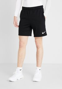 Nike Performance - Sports shorts - black/white - 0