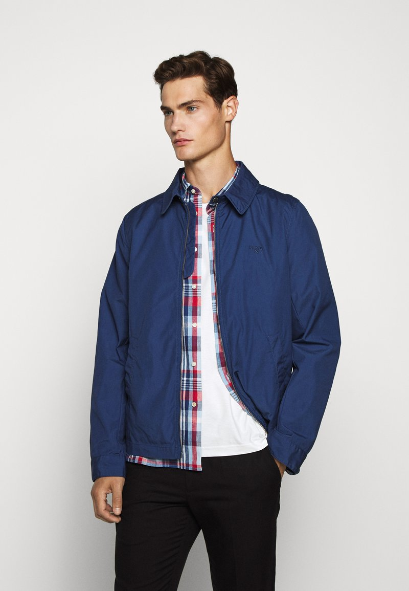 Barbour - ESSENTIAL CASUAL - Summer jacket - north sea blue