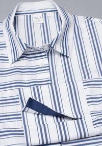 Eterna - Button-down blouse - navy/white - 4
