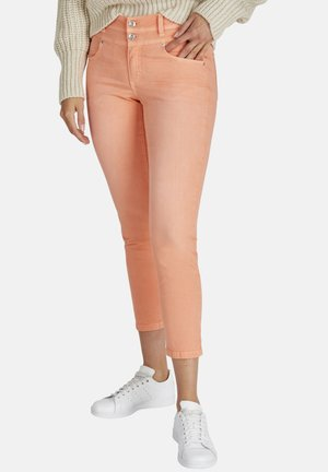 ORNELLA - Slim fit jeans - orange