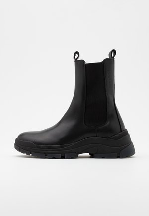 MAIA - Bottines à plateau - black