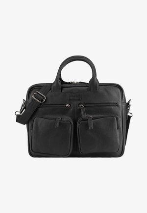 DALLAS - Briefcase - black