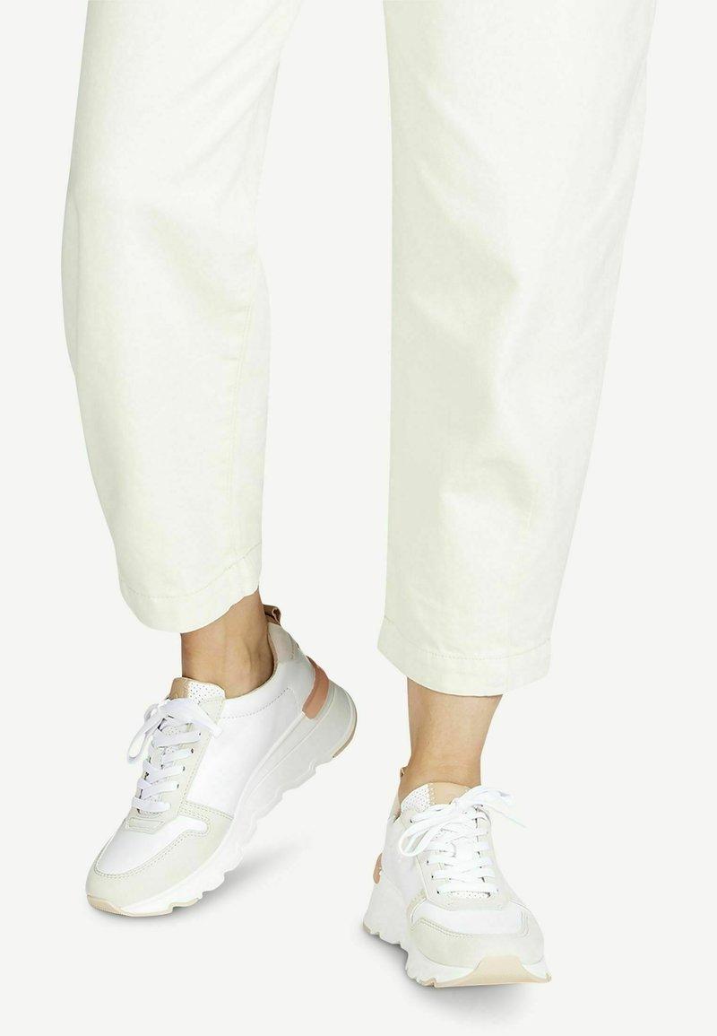 Tamaris - Trainers - white comb