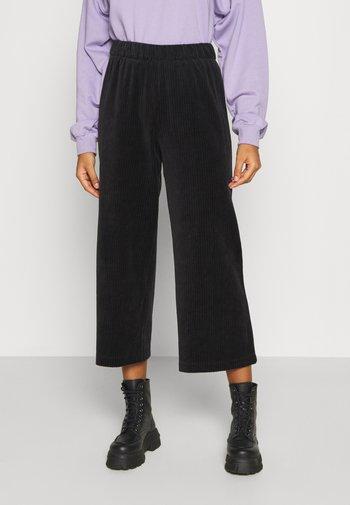 CORIE TROUSERS - Pantalon classique - black dark