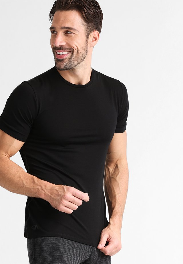 ANATOMICA  - Basic T-shirt - black/monsoon