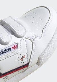 adidas Originals - CONTINENTAL 80 SHOES - Zapatillas - ftwr white/collegiate navy/scarlet - 7