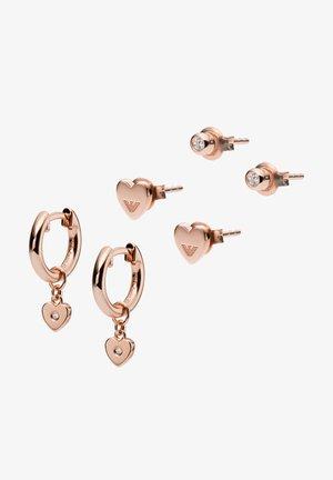 Boucles d'oreilles - rose gold