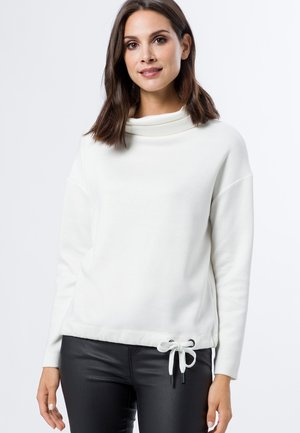 MIT ROLLKRAGEN - Sweater - woolwhite