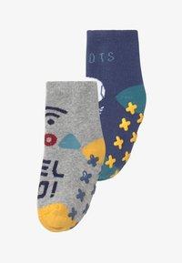 OVS - ANTISLIPPER BOY 2 PACK - Socks - blue indigo - 0