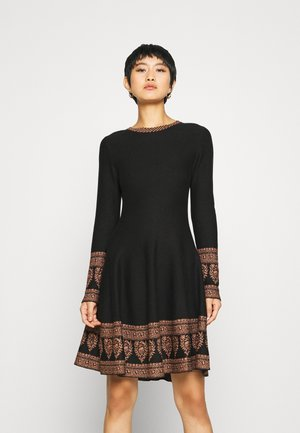 DANEMARK ROBE - Jumper dress - black