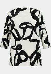 Ulla Popken - Long sleeved top - black multi - 2