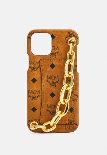VISETOS ORIGINAL SMART PHONE CASE - Phone case - cognac