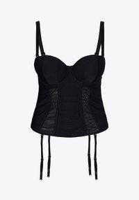 Curvy Kate - LUXE BASQUE - Corset - black - 0