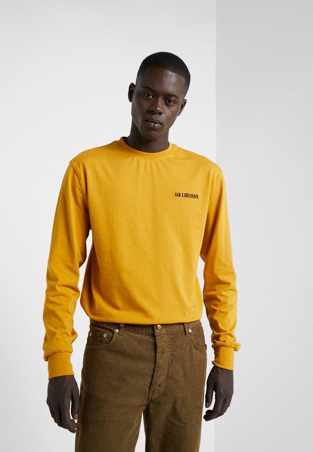 CASUAL TEE LONG SLEEVE - Bluzka z długim rękawem - mustard
