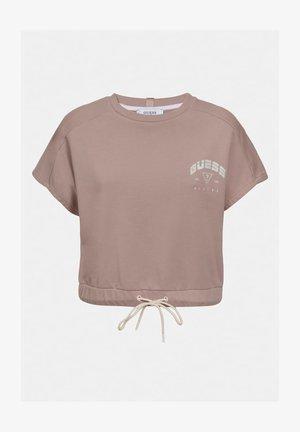 Print T-shirt - rosa