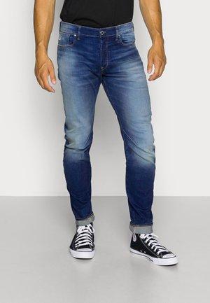 ARC 3D SLIM FIT - Jeans slim fit - joane stretch denim - worker blue faded