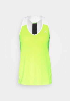 ONPAMBRE TRAINING - Sports shirt - safety yellow/white/black