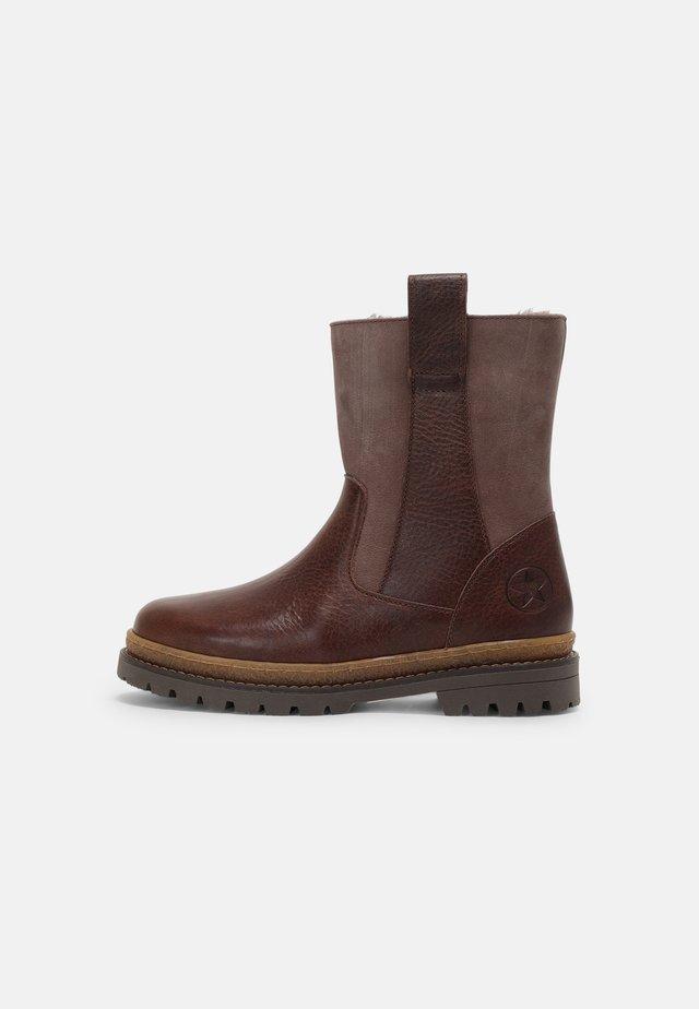 NIKO - Kotníkové boty - brown