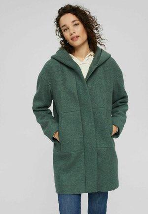 Classic coat - teal blue