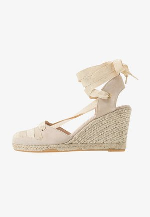 LADAGIA - High heeled sandals - sable