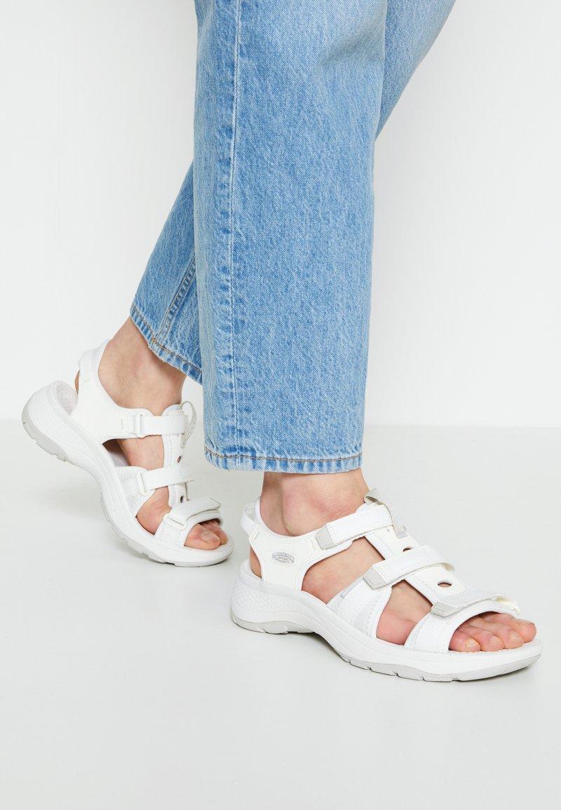 Keen - ASTORIA WEST OPEN TOE - Walking sandals - white