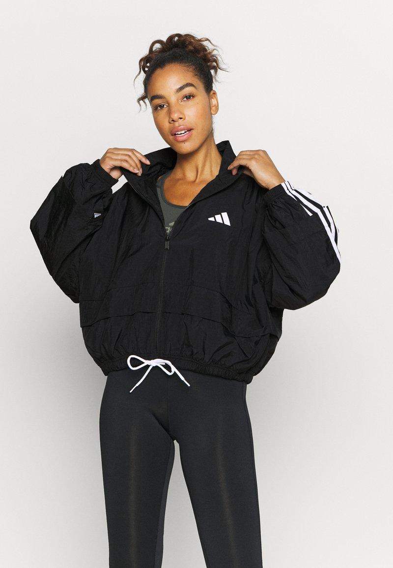adidas Performance - COVER UP - Training jacket - black