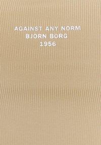 Björn Borg - NIGHT CROP TANK - Top - cornstalk - 2