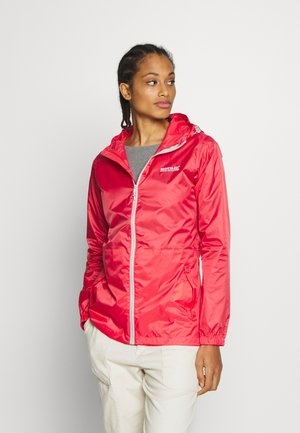 Waterproof jacket - red sky