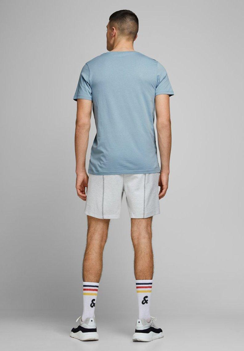 Jack & Jones JCOSHAUN  - Print T-shirt - light blue O0uTD
