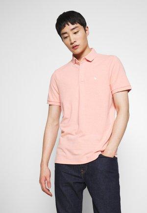 Polo shirt - coral siro