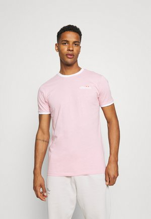 MEDUNO TEE - Print T-shirt - light pink