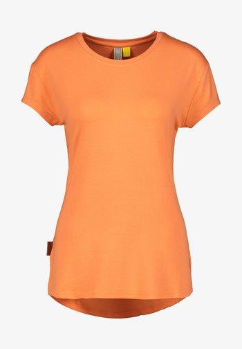Basic T-shirt - papaya