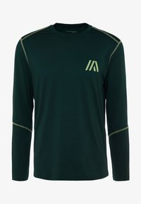 Your Turn Active - T-shirt à manches longues - dark green - 3